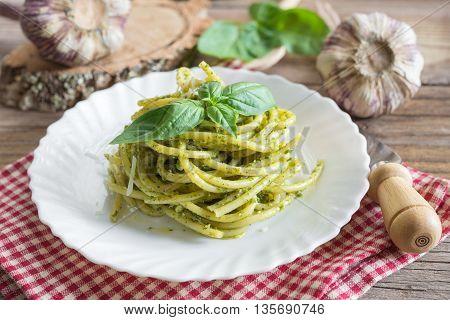 Bucatini Pasta By Pesto