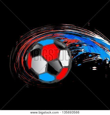 Soccer background color france color easy all editable