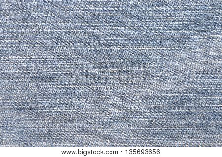 close up of jean denim fabric texture and background