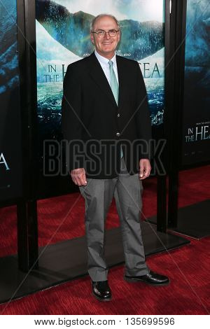NEW YORK-DEC 7: Author Nathaniel Philbrick attends the New York premiere of