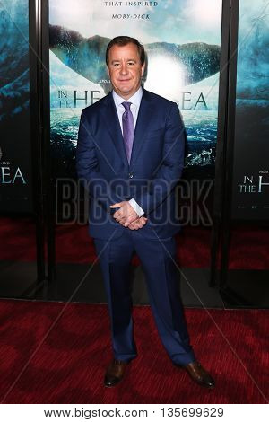 NEW YORK-DEC 7: Producer Will Ward attends the New York premiere of