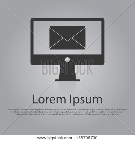 Vector Icon Of Email Concept
