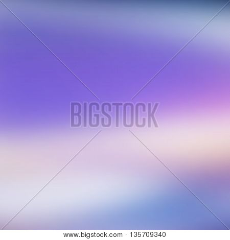 vector blue abstract background with blurred shapes and spots