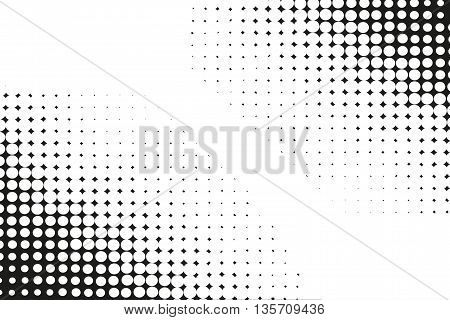 Halftone vector background.Halftone dots vector texture. Vector illustration
