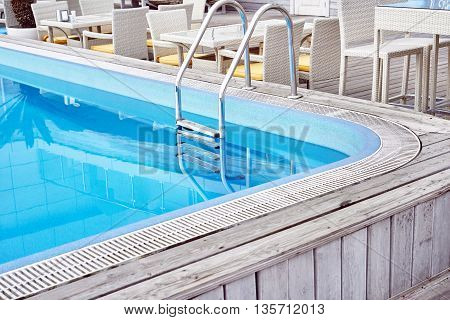 Blue Swimming Poo