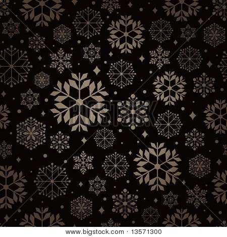 christmas pattern snowflake background