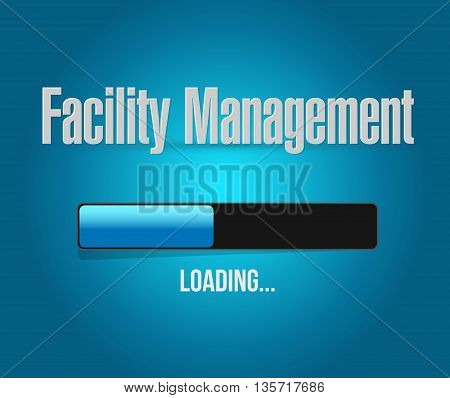 Facility Management Loading Bar Sign