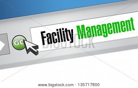Facility Management Browser Sign