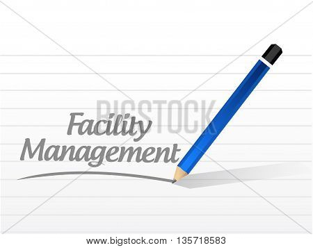 Facility Management Message Sign