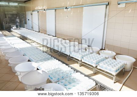 Soft Cheese Production Room