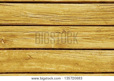 Colored wooden plank floor background top view of vintage style rustic wood texture.