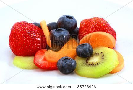 Different Fruits Placed Together