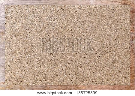 empty corkboard for office memo for background