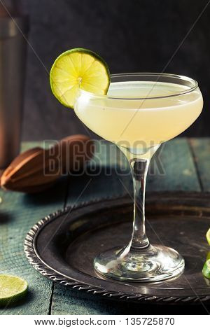 Classic Lime Daiquiri Cocktail