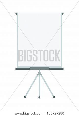 Blank Vertical Flip Chart