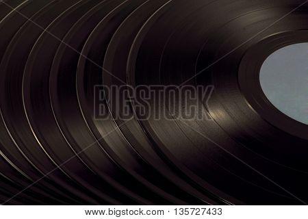 A Pile Of Vinyl