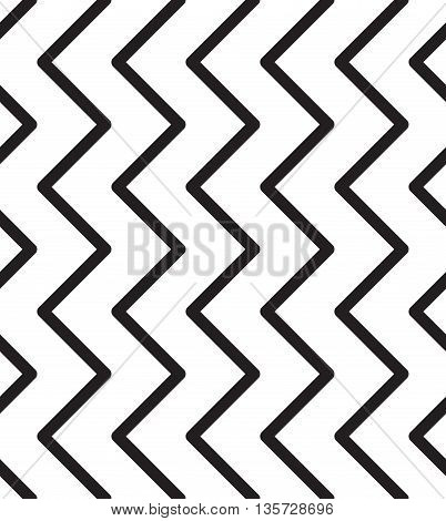 Universal Striped Zig Zag Seamless Pattern