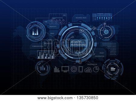 Media business background