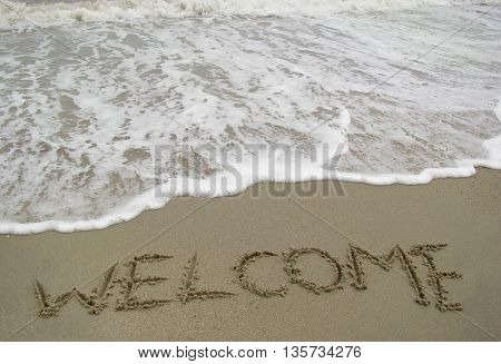 welcome on the beach