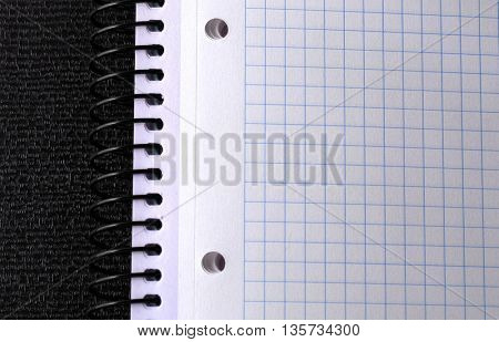 empty note book