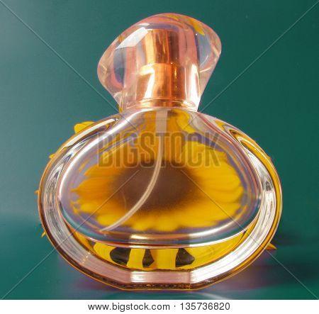 perfume made of flower