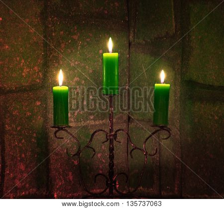 Beautiful candle light