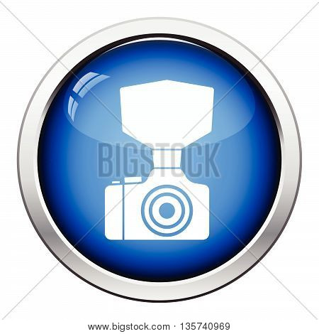 Camera With Fashion Flash Icon