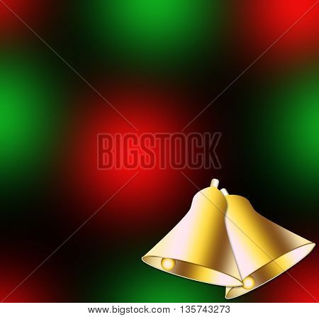 Christmas backgrounds with Christmas bells