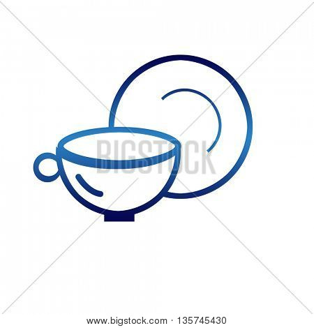 household appliances icons - coffee cup icons