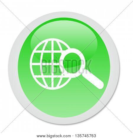 world wide web search button