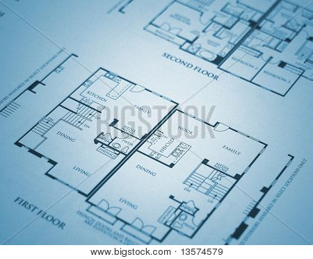 A photo of home plans