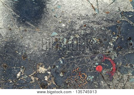 Abstract Textured Background-grungy Metal Close Up