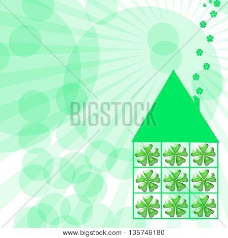 Four Leaf Clover happy house
