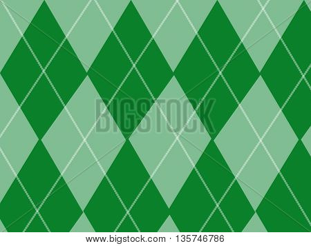 Abstract background for design rhombus - seamless argyle pattern