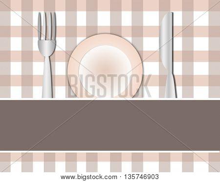 cutlery contemporary pattern- menu