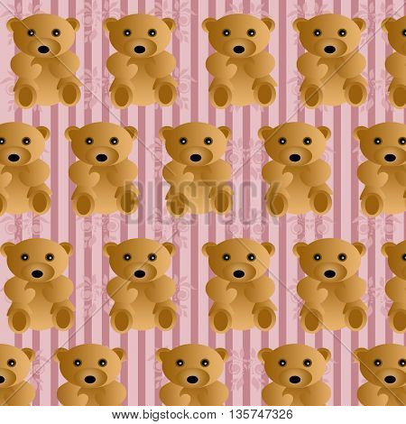 eddy bears seamless