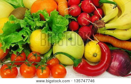 gift for health fruits and vegetables