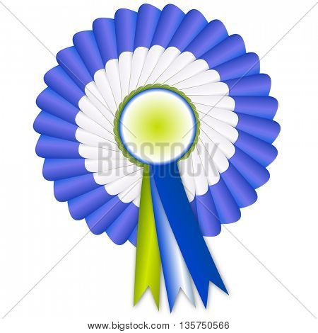best choice badge with ribbon