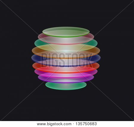 abstract ball design
