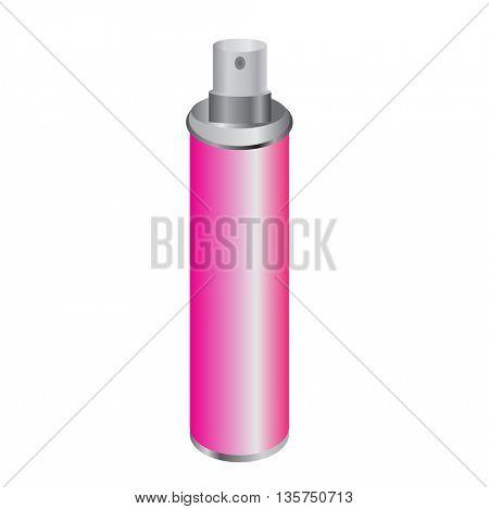 Perfume bottle.