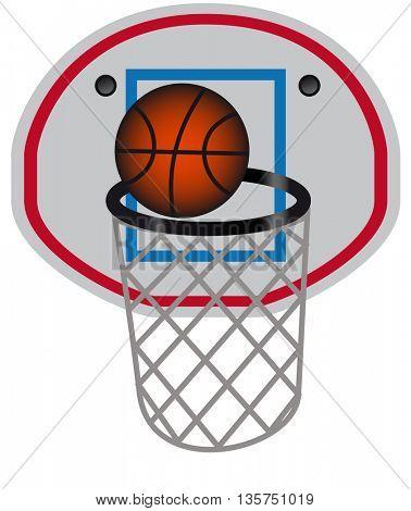 basketball with web