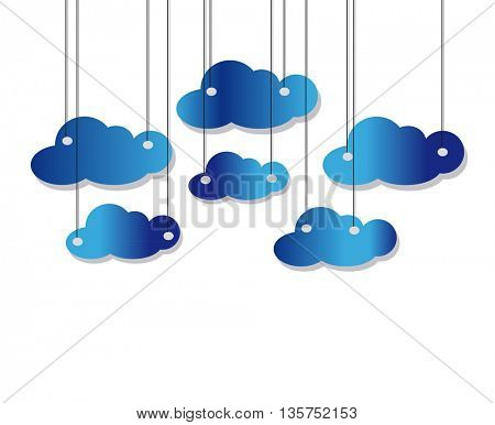 hanging clouds collection