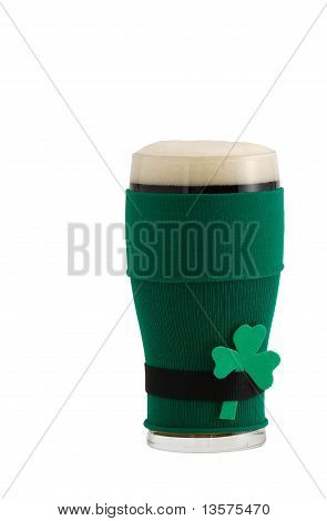 Beer In St Patrick Beer Glass