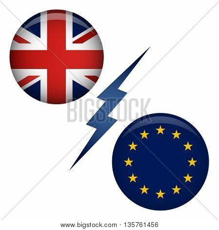 Brexit Uk Referendum Exit Graphic