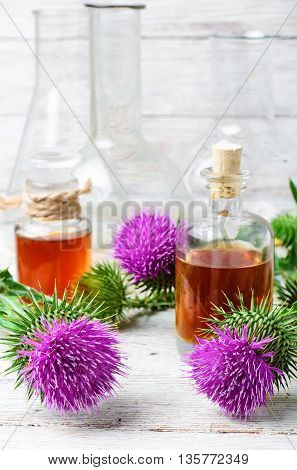 Flower And Burdock Extract