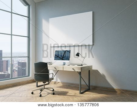 Office With Whiteboard