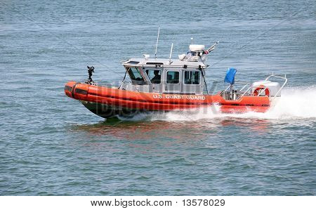 Coast guard rushing to the rescue