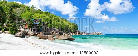 Tropical Coast Panorama