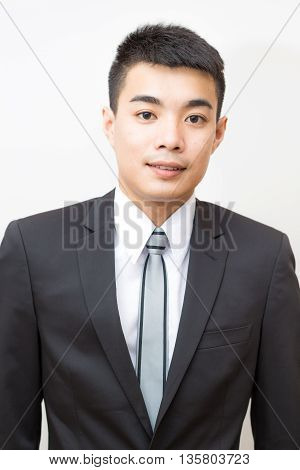 Young Good Smart Looking Asian Professional Business Man