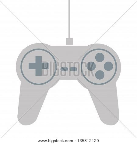 flat design of game controller vector illustration
